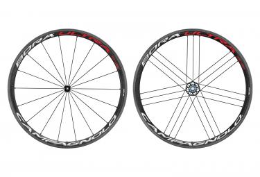 Juego de ruedas tubulares Campagnolo Bora Ultra 35 Bright | 9x100 - 9x130mm | Patines