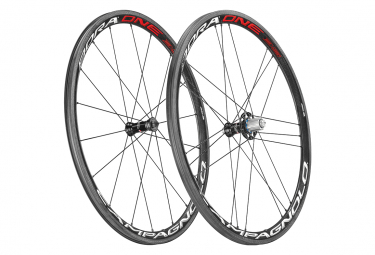 Campagnolo Bora One 35 Bright Tubular Wheelset | 9x100 - 9x130mm | Skates