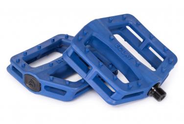 Eclat Centric Flat Pedals Blue