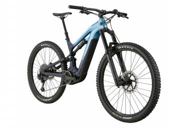 VTT Électrique Tout-Suspendu Cannondale Moterra Neo Carbon 2 Sram GX/NX Eagle 12V 625 Wh 29'' Bleu Alpine 2021