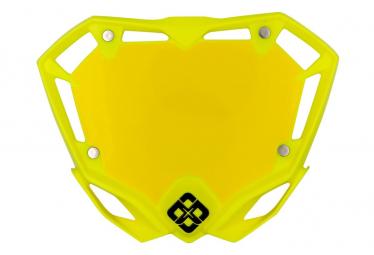 Pride Racing MINI Plate Yellow Fluo