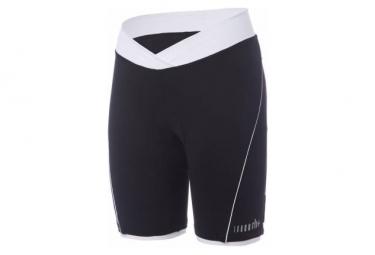 Shorts Zero Rh   Pista Negro   Blanco Mujer M