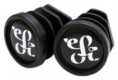 ESI Plush Silicone Bicycle Grips Black