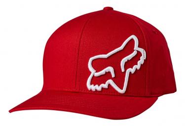 Casquette Enfant Fox Flex 45 Rouge / Blanc