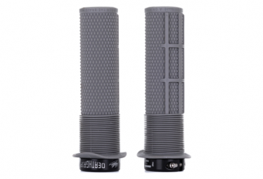 DMR DeathGrip Grips with Flanges Grey