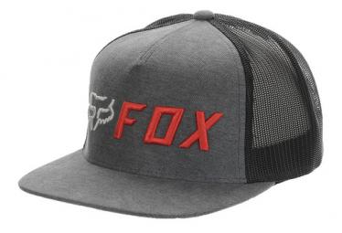 Gorra Fox Apex Ninos Gris   Naranja