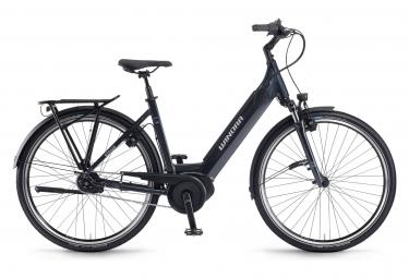 Winora sinus in5f monotube 28 bicicleta electrica de ciudad shimano nexus 5s 500 wh 700 mm graphite grey 2020 46 cm   150 165 cm