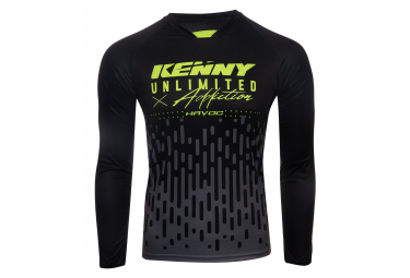 Maillot Manches Longues Kenny Havoc Charcoal