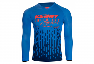 Langarmtrikot Kenny Havoc Blue