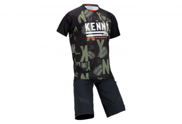 Maillot Manches Courtes Kenny Charger Palm