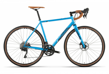 Bicicleta Gravel Bombtrack Hook Shimano GRX 10S 700 mm Azul metalizado 2021