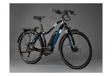 Haibike SDuro Trekking 3.0 W Womens Hybrid Bike Noir / Bleu
