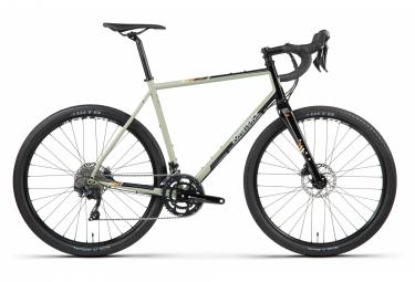 Bicicleta de gravel bombtrack audax shimano 105 11s 650b verde salvia negro 2021 xl   188 199 cm