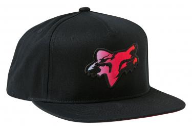 Casquette Fox Pyre Snapback Noir