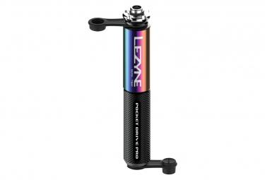 Pompe à Main Lezyne Pocket Drive Pro (Max 160 psi / 11 bar) Néo Métal