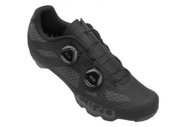 Giro Sector MTB Schuhe Schwarz / Dark Shadow