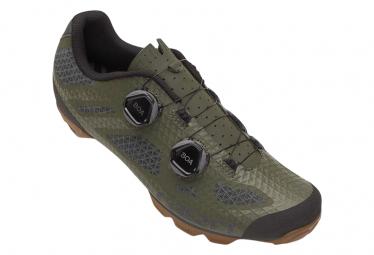 Giro Sektor MTB Schuhe Olivgrün / Gummi