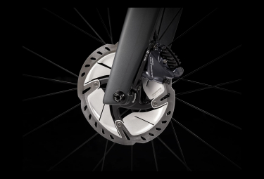 Trek Madone SL 6 Scheiben Rennrad Shimano Ultegra 11S Lithium Grau / Trek Schwarz 2021