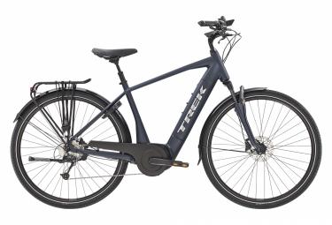Trek Verve + 4 City Bike elettriche Bosch 500wh Shimano Deore 9V Matte Nautical Navy 2021