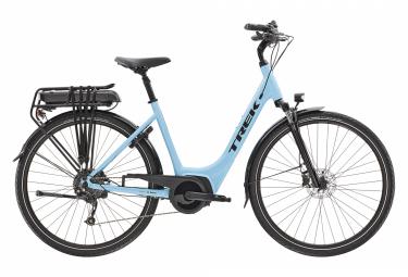 Bicicleta Ciudad Mujer Trek Verve+ 2 Lowstep Bleu / Noir