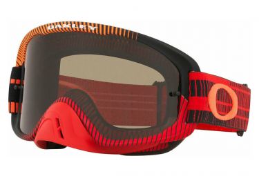 Masque Oakley O'Frame MX 2.0 Rouge / Orange / Grey Lens / Ref.OO7068-50