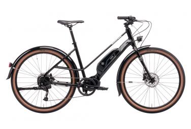 Vélo de Ville Électrique Kona Ecoco Shimano Alivio/Acera 9V 500 Noir 2021