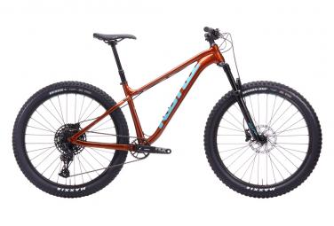 Kona big honzo dl bicicleta rigida mtb sram nx   sx eagle 12v 27 5   plus naranja oxido 2020 m   168 177 cm