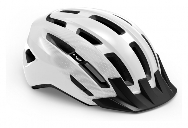 Casco Met Downtown Mips Blanco Brillante 2021 Xs M  52 58 Cm