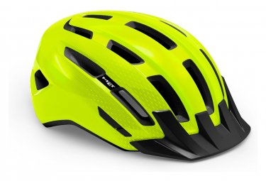 Casco Met Downtown Mips Amarillo Neon Brillante 2021 L Xl  58 61 Cm
