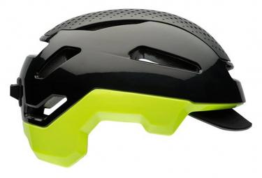 Bell Hub Helm Grau Schwarz / Gelb Fluo
