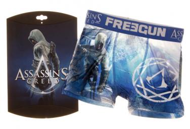 Boxer bleu garçon Freegun Assassin's Creed