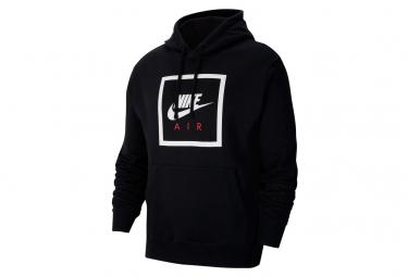 Sweat à capuche Nike Sportswear Air Noir / Blanc