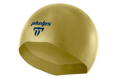 Image of Bonnet de bain michael phelps x o 2 or bleu marine l
