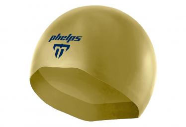 Bonnet de bain Michael Phelps X-O 2 Or Bleu Marine