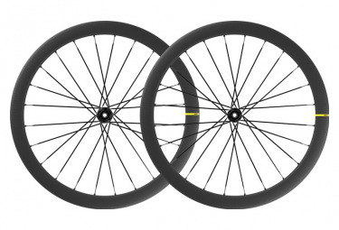 Juego de ruedas Mavic Cosmic SLR 45 Disc 700 | 12x100 - 12x142mm | Centerlock 2021