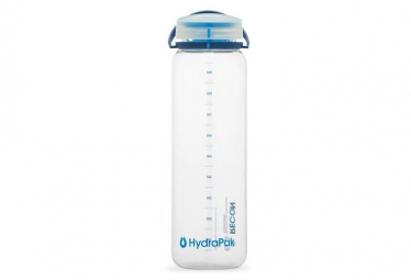 Hydrapack Recon Watter Flasche 1L Clear / Navy / Cyan