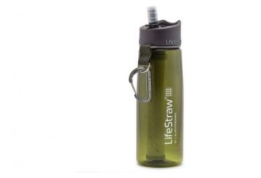 Botella de filtro lifestraw go 2 etapas 650 ml caqui