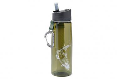 Gourde Filtrante Lifestraw Go 2 Stages 650 ml Vert Poisson