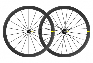 Juego de ruedas Mavic Cosmic SL 40 700 | 9x100 - 9x130mm | 2021 patines
