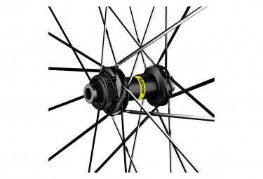Paire de Roues Mavic Cosmic SL 45 Disc 700   12x100 - 12x142mm   Centerlock 2021