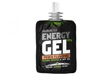 Gel énergétique BioTechUSA Energy Gel 60g Pêche