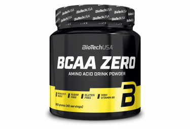 Pot BioTechUSA BCAA Zero 360g Ice-Tea Citron