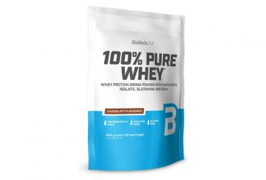 Boisson protéinée BioTechUSA 100% Pure Whey 450g Chocolat