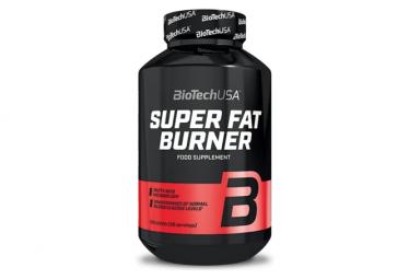 Compléments BioTechUSA Super Fat Burner 120 gélules