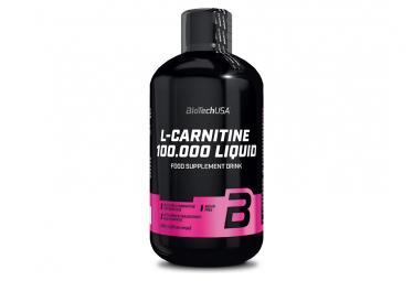 Compléments BioTechUSA L-carnitine 100.000 Liquid 500ml Pomme