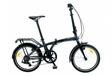 Bicicleta Plegable Monty Fusion Panache 7v Gris 2021