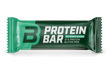 Image of Barre proteinee biotechusa protein bar 70g beurre de cacahuete