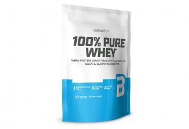 Boisson protéinée BioTechUSA 100% Pure Whey 450g Cookies Cream
