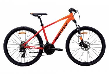 Bicicleta de montana para ninos monty kx9 26   7v rojo   naranja 12 14 anos