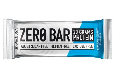 Barre protéinée BioTechUSA Zero Bar 50g Chocolat Coco